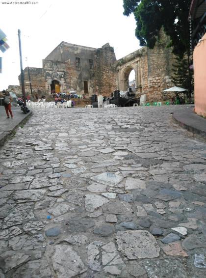 Ruinas de San Francisco -  en la Provincia - Santo Domingo