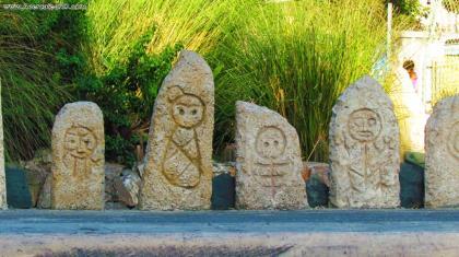 Estatua de Enriquillo -  en la Provincia - Azua