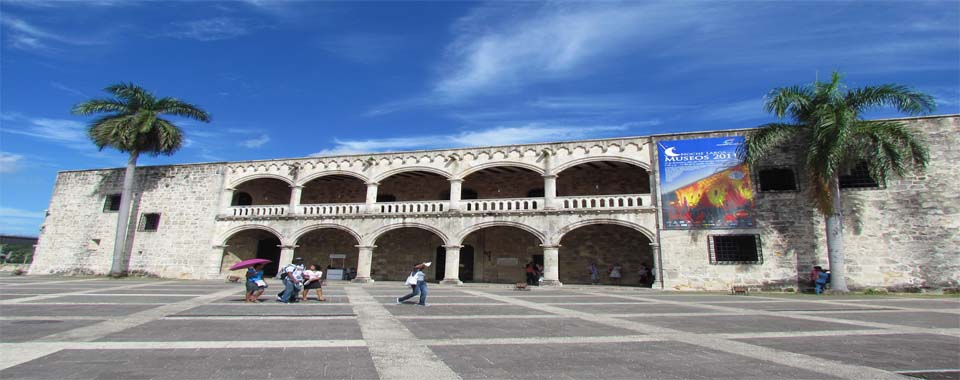 foto alcazar de colon en santo domingo